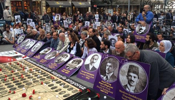 Genocide commemorations in Istanbul: racism and war policies are not destiny
