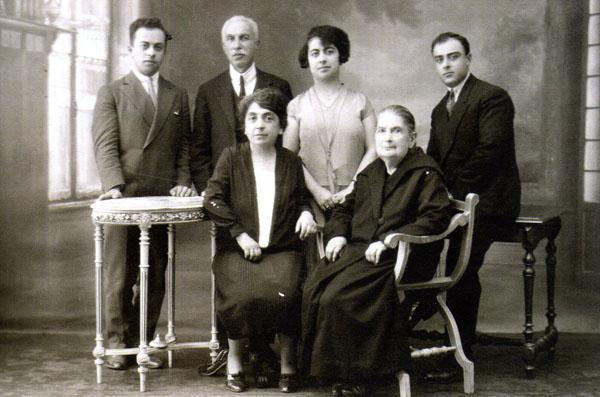 Edirneli Avedisyan ailesi.
