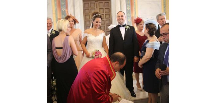 Büyük Sinagog'da 41 yıl sonra ilk nikah