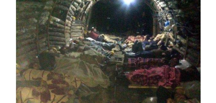 Madenciler açlık grevinde: İki ocak da kaçakmış