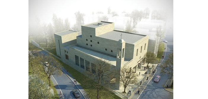 Cumhuriyet döneminin ilk kilisesi inşa edilecek