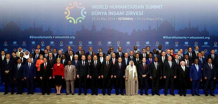Halka ilişkiler çalışması olarak Dünya İnsani Zirvesi