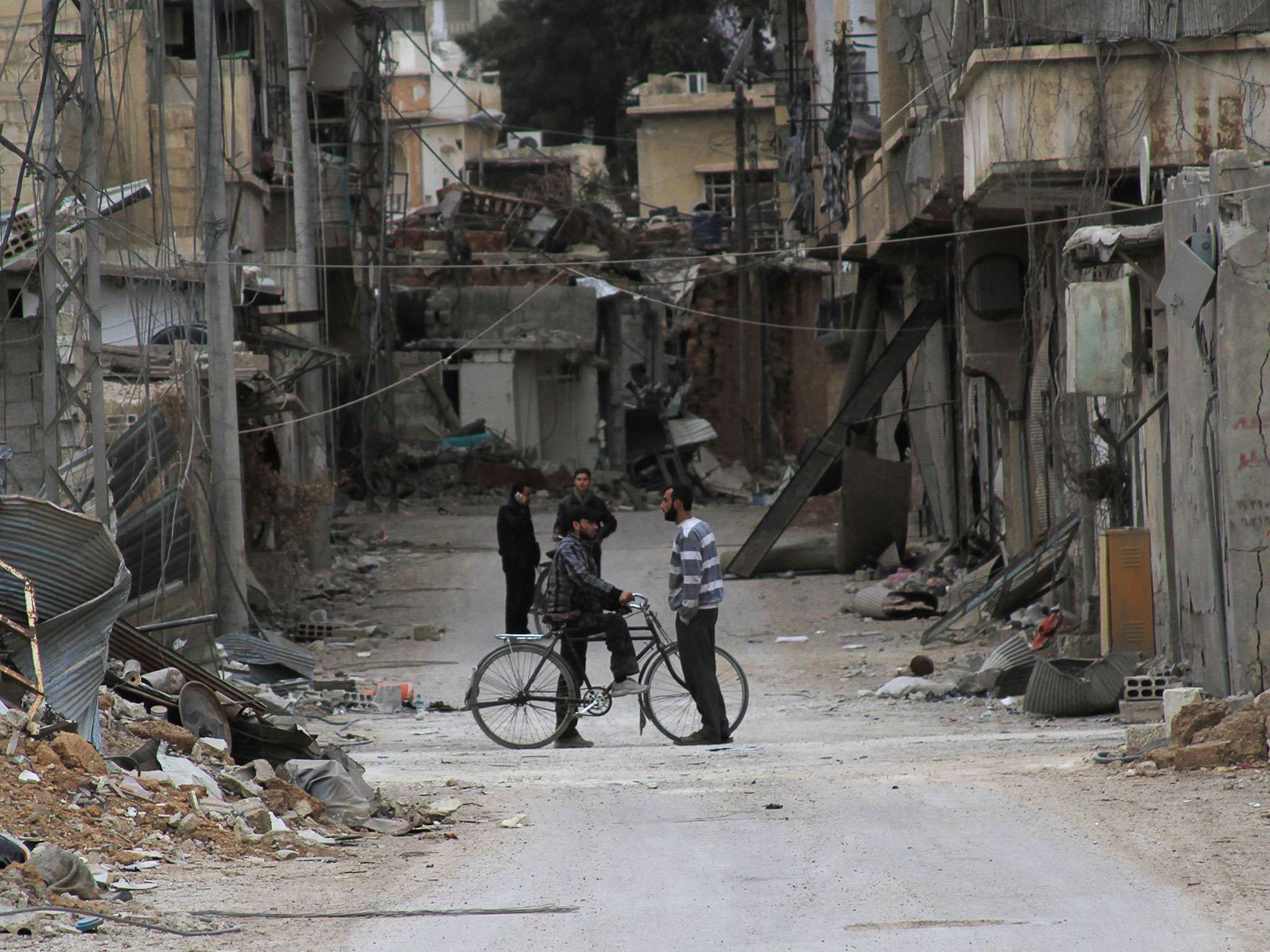 Daraya has been under siege since 2012