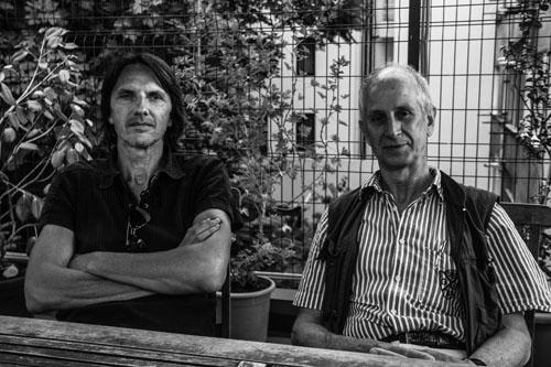 Hoheisel ve Knitz. Fotoğraf: Miran Manukyan