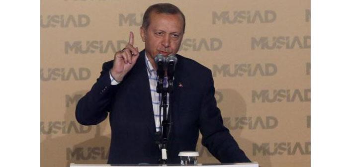 Erdoğan: Birilerinin halen liseleri, üniversiteleri kaşıyarak..