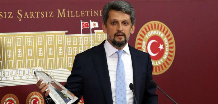 Paylan'dan 'En iyi Ermeni ölü Ermeni'dir' sloganı için suç duyurusu
