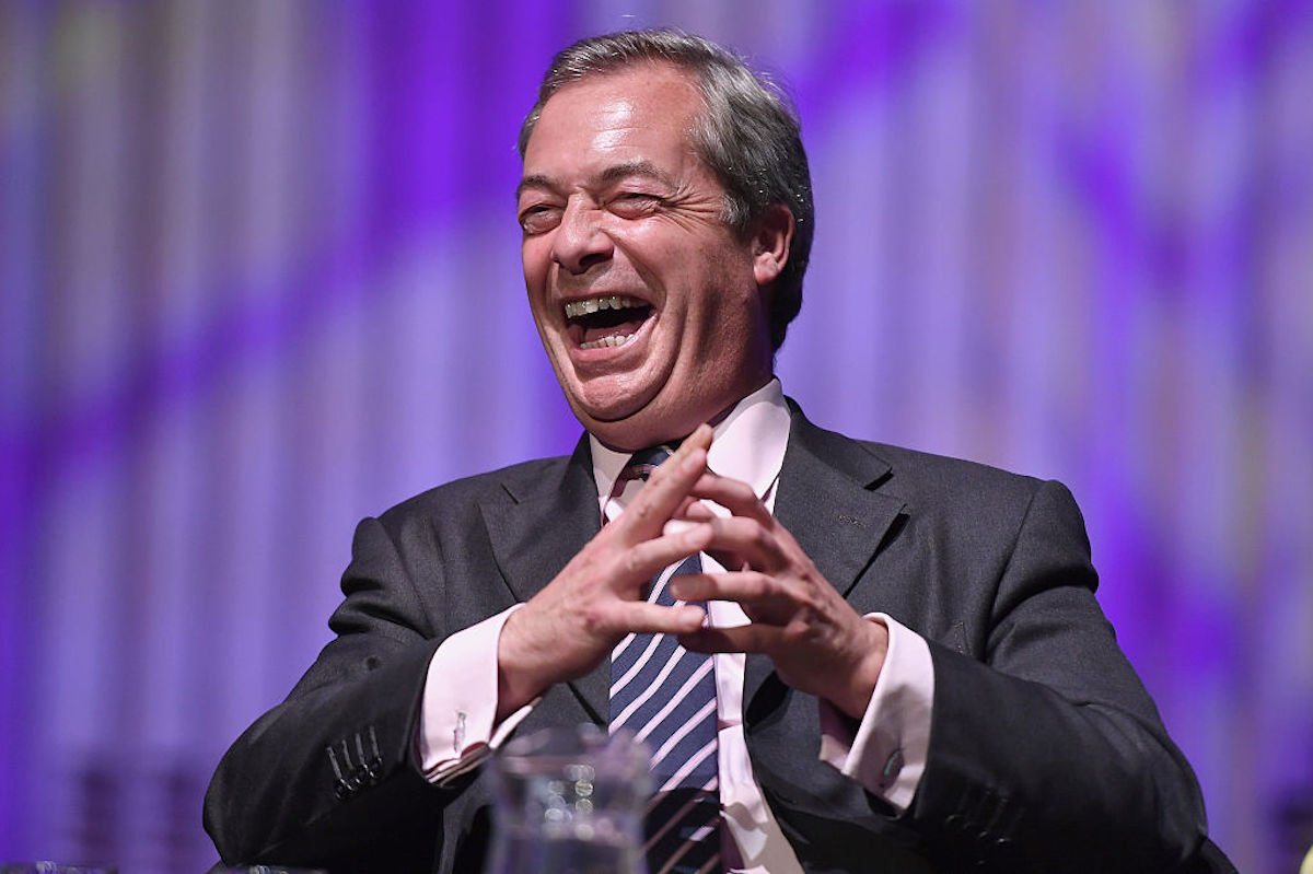 Nigel Farage. Photo: gettyimages
