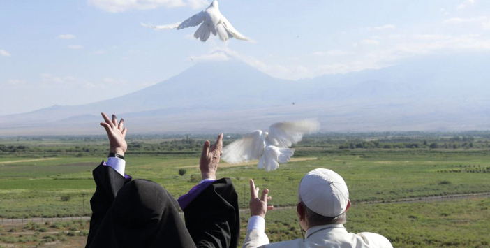 It is time to welcome home the Pope's doves of peace
