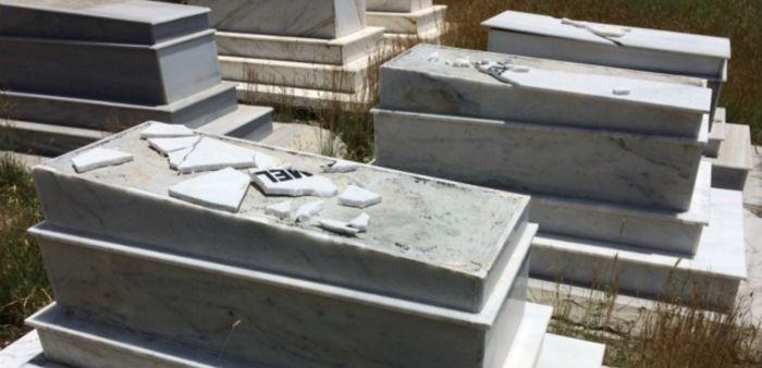 Hatay'daki Musevi mezarlığına saldırı