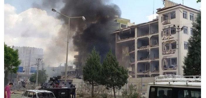 Midyat Emniyet Müdürlüğü'ne saldırı