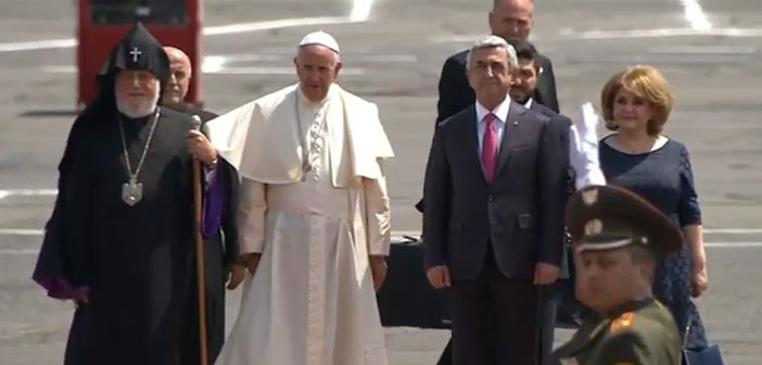 The Pope in Armenia