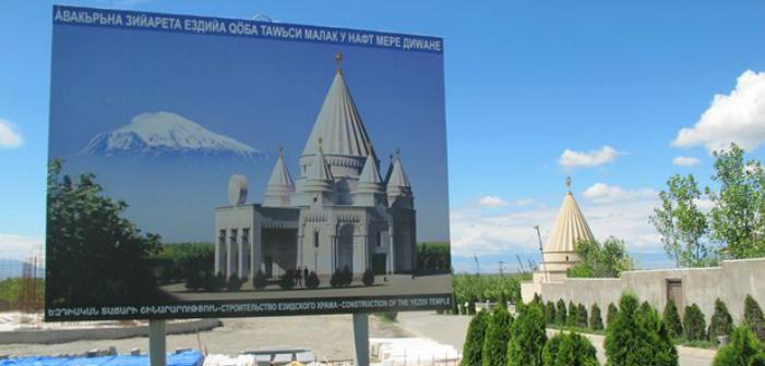 Dünyanın en büyük Ezidi tapınağı Ermenistan'da