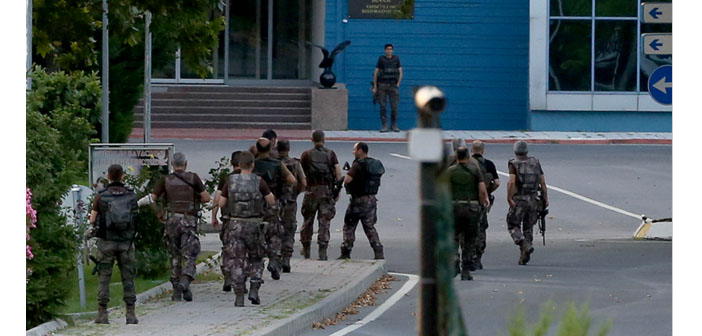 """""""Cleansing"""" operations continue after the attempted coup"""