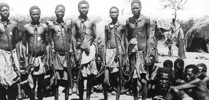 German government recognized the genocide in Namibia