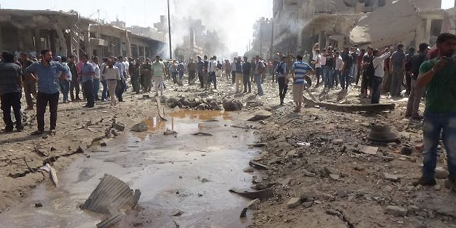 Truck bomb blast in Qamishli: at least 50 killed