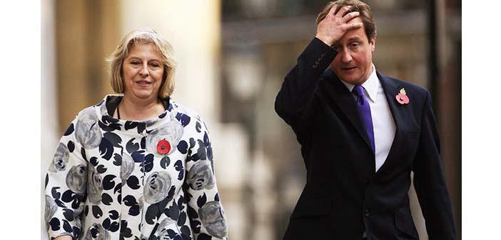 Cameron istifasını sunuyor, yeni Başbakan Theresa May