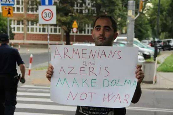 Armenian and Azerbaijani people came together for peace