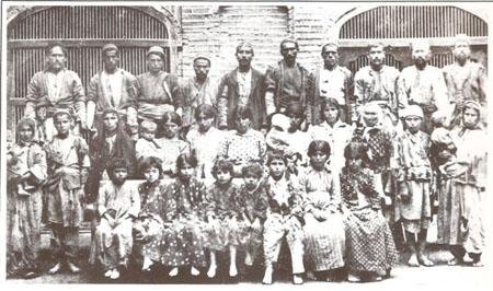 Soykırımdan kurtulan Ermeniler, Bağdat, 1918.