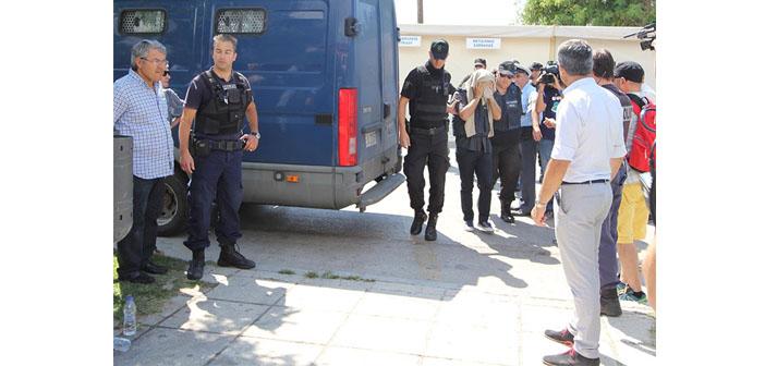 8 askerin iade dosyası Yunanistan'a gönderildi