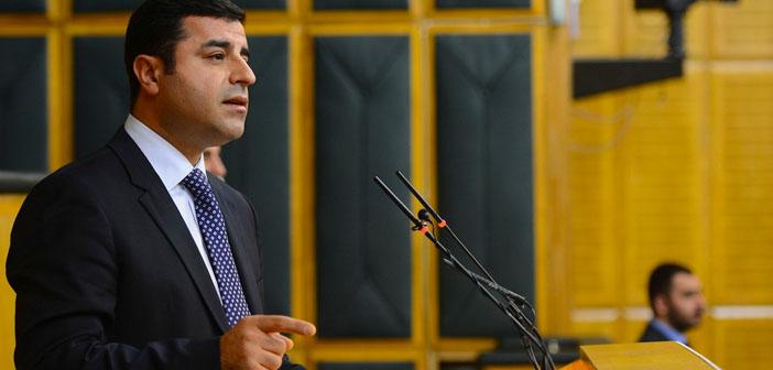 Demirtaş: Gülen ile el ele vererek yaptıklarınızı unutarak tabii ki Yenikapı'ya gidemezdik