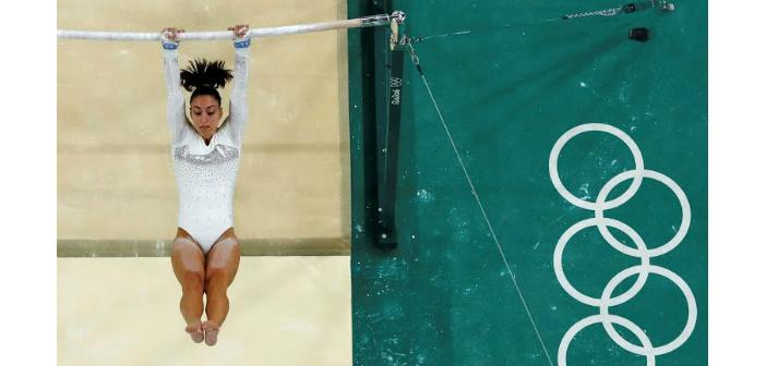 Rio'da 'Gebeshian Dönüşü' jimnastik oyunlarına damga vurdu