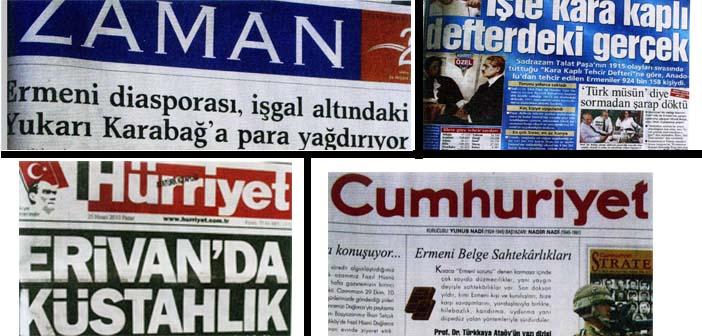 Gazetelerin 24 Nisan karnesi: Yeni yaklaşım var ama inkâr sürüyor