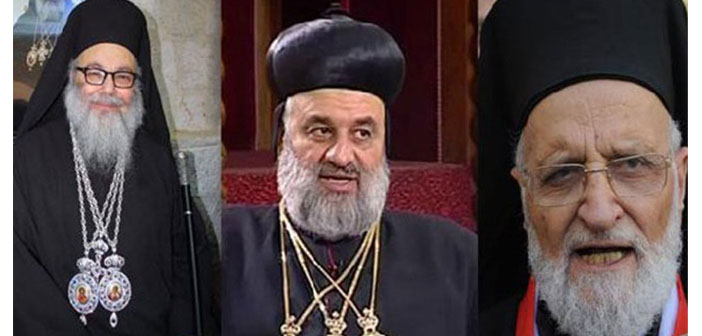 Patriklerden Suriye çağrısı