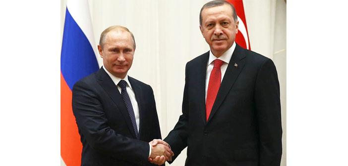 Erdoğan ve Putin'den 'ekonomik ilişki' vurgusu