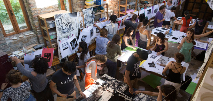 Köyde hayata geçen bir düş: Sanat Yazokulu