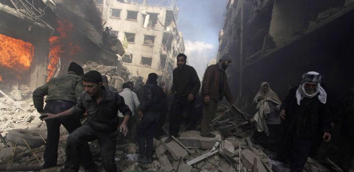 BM: Esad ve IŞİD kimyasal silah kullandı