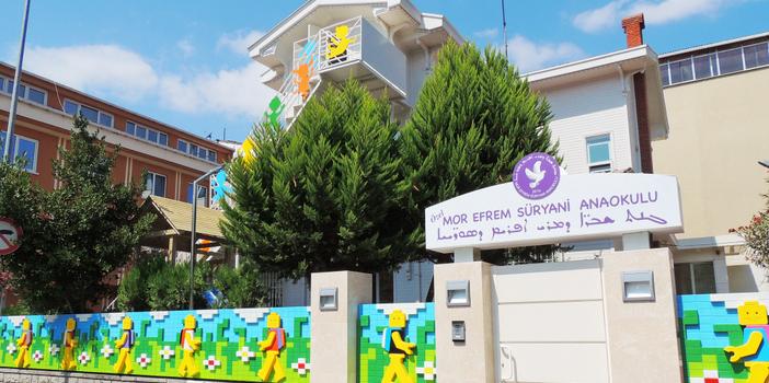 Süryani ilkokulu destek bekliyor