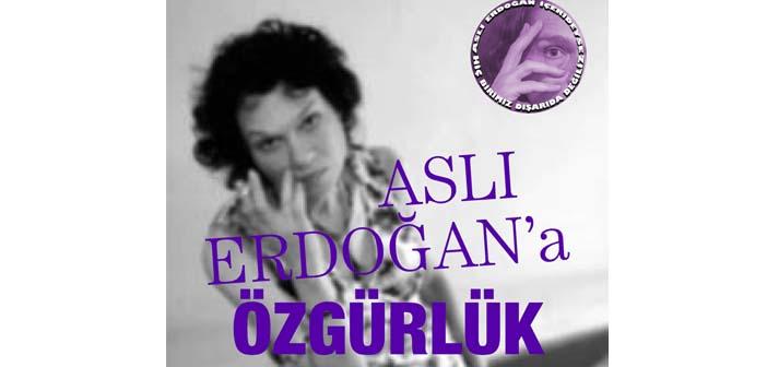 Aslı Erdoğan için basın toplantısı