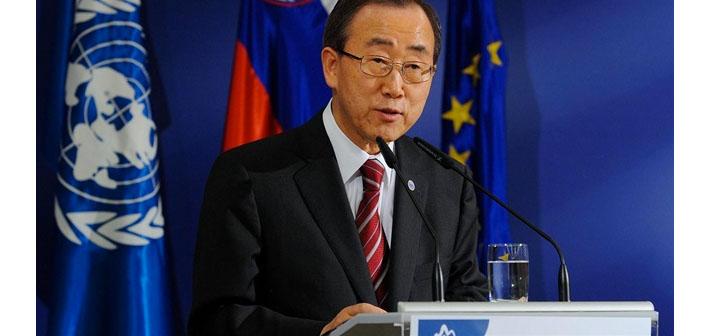 Ban Ki-mun: Suriye'deki trajediyi anlatmak için birkaç kelimem kaldı