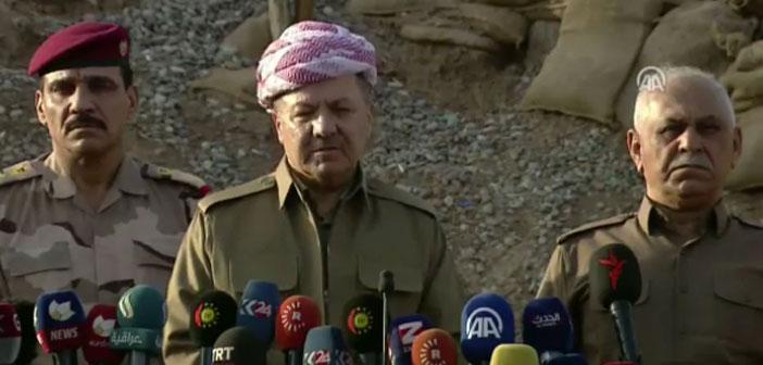 Barzani: Ankara operasyona katılmak istiyorsa Bağdat'la anlaşmalı