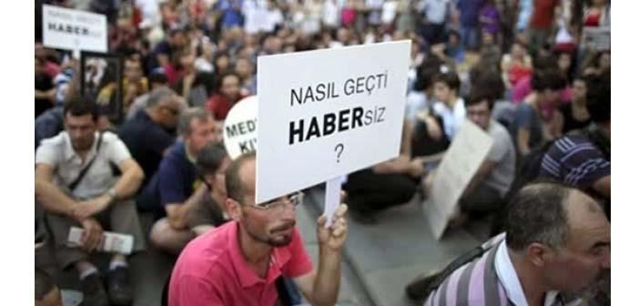 Bia Medya Gözlem Raporu: 78 gazeteci tutuklu, 2500 gazeteci işsiz, 155 yayın kapatıldı