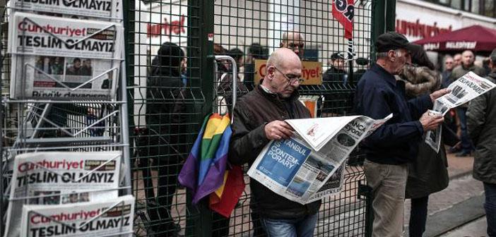 Hapisteki Yazarlar Günü'nde Cumhuriyet'ten mektup var