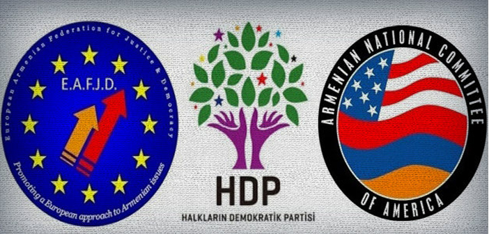 Armenian Diaspora's reaction against the arrest of HDP MPs