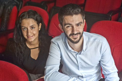 Enna Ökke ve Serhan Ekin. Fotoğraf: Berge Arabian