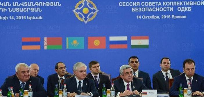 'Rusya'nın NATO'su' Ermenistan'da toplandı