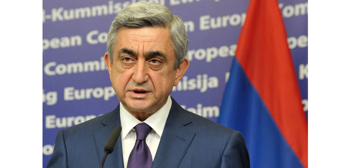 Sargsyan: Opening of Armenian-Turkish border doesn't depend on us