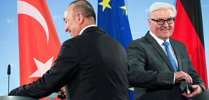 Steinmeier ve Çavuşoğlu görüştü