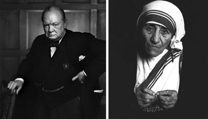 Winston Churchill ve Azize Teresa