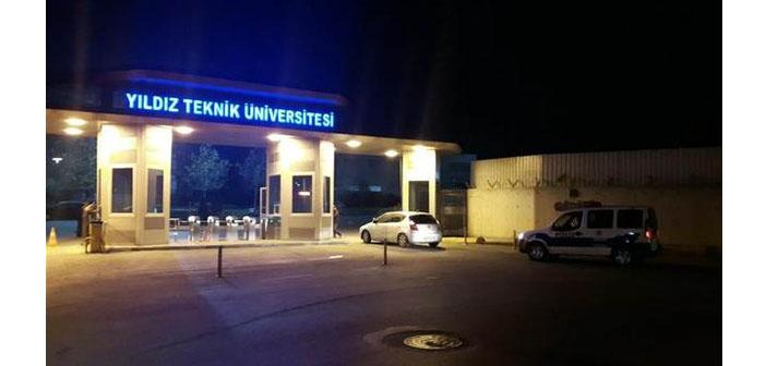 Yıldız Teknik Üniversitesi'nden 73 akademisyen gözaltında