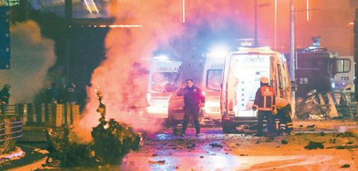 Beşiktaş saldırısı: Hayatını kaybedenlerin sayısı 44'e yükseldi