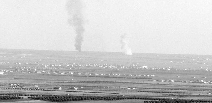 TSK: El Bab'ta Suriye rejimi saldırdı