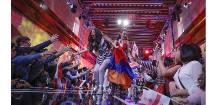 Çocuk Eurovision'da Ermenistan ikinci oldu