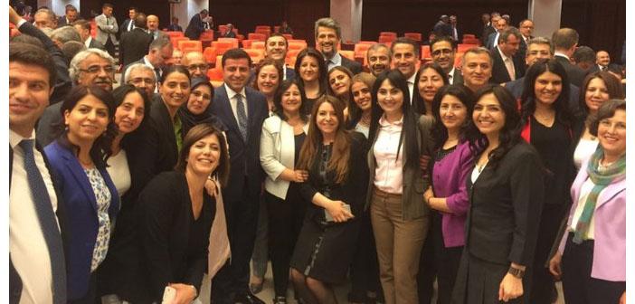 """HDP'ye """"Meclis'e dön"""" çağrısı"""