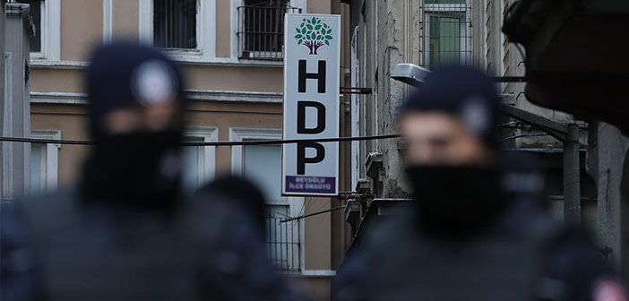 118 HDP officials including co-chairs detained