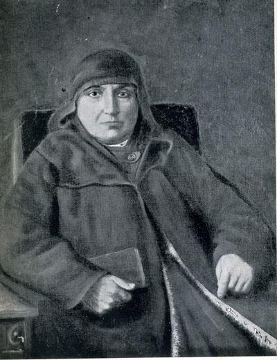 Rahibe Sırpuhi Kalfayan'ın Rahibe Mariyam Köseyan tarafından yapılmış olan yağlıboya tablosu