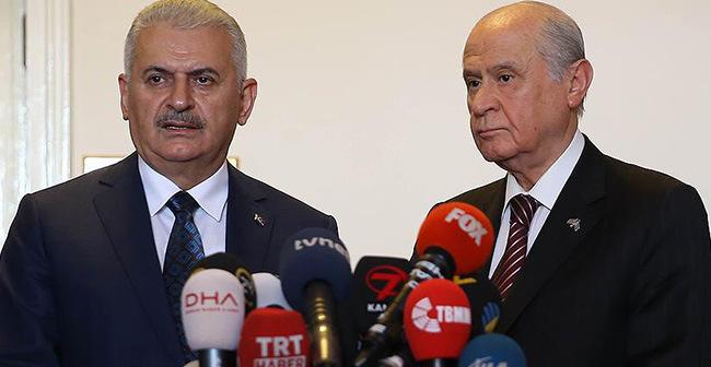AKP ve MHP'nin anayasa müzakereleri sona erdi